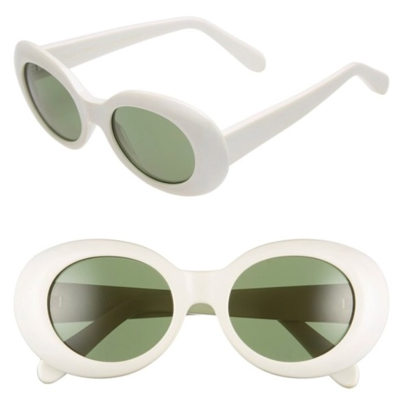 a4c106d98ec27 Acne Accessories - Acne Studios Off White Mustang Sunglasses